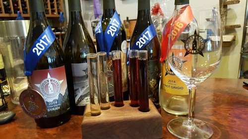"""Churn Creek Cellars – Wine from the """"bottom"""" – Anderson, CA"""