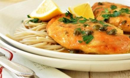 Recipes- Chicken Picatta Light, Quick & Delicious
