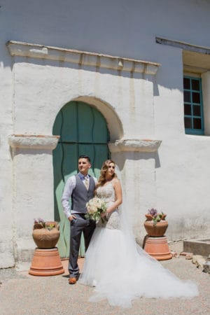 villa wedding by Diane Nicole Photography