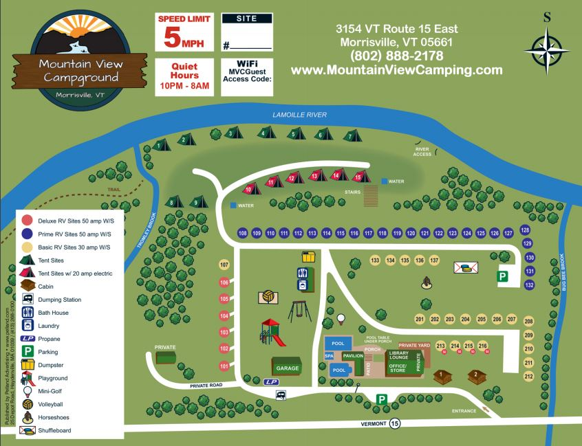 New Campground Map