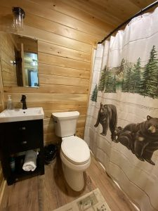 Log Cabin Bathroom 2
