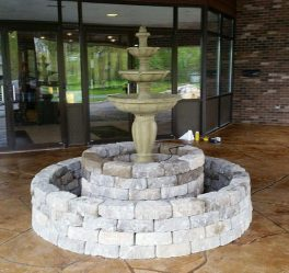 block-fountain