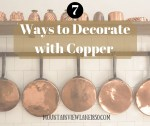 7 Ways to Decorate with Copper at Mountain View Lane blog