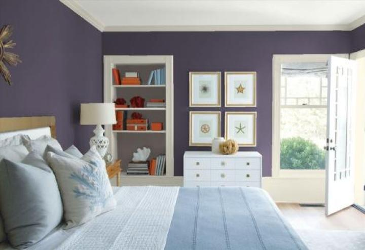 Benjamin Moore 2017 Color of the Year Shadow | Laundry Shoppe | featured on Mountain View Lane blog
