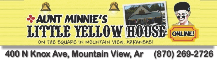 Aunt Minnie's Little Yellow House