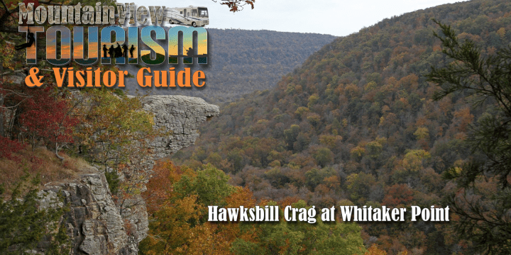 Hawksbill Crag at Whitaker Point