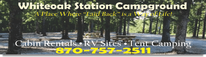 Whiteoak Station Campground in Mountain View Ar