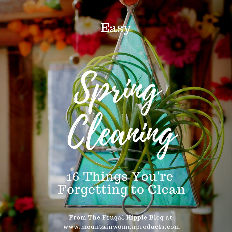 Spring Cleaning: 16 Things You Forget to Clean