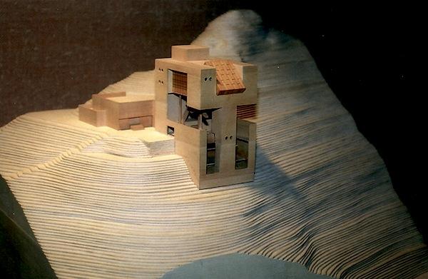 Il progetto di Mario Botta per il belvedere di Les Diablerets.