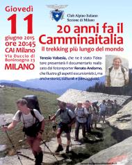 Locandina Sentiero Italia