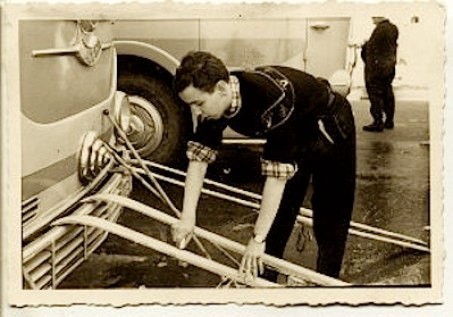 Sciolina a Cervinia 1956