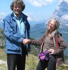 Luisa Rota Sperti e Reinhold Messner copia