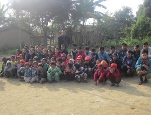 rajendra-nhisutu-wih-our-orphaned-and-destitute-children-of-nepal