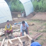 Rajendra-Nhisutu-is-and-his-team-making-zic-slate-tent