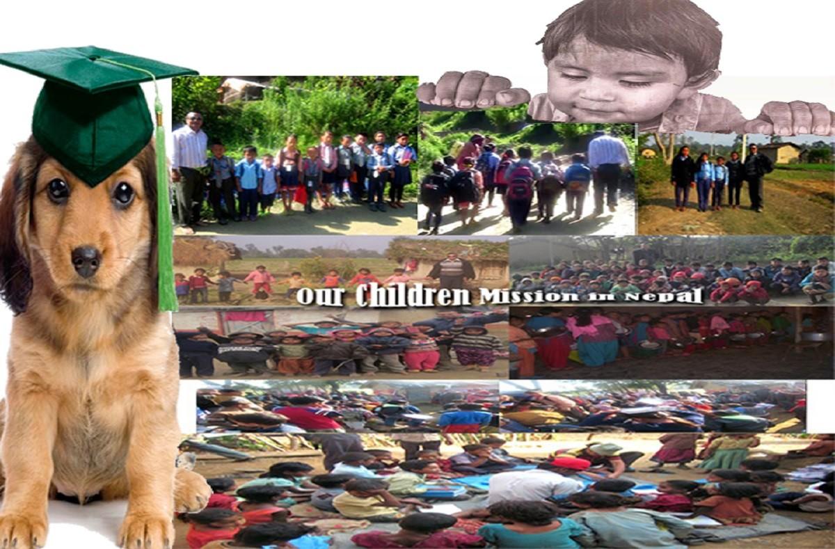 let lost and forgotten children of Nepal go school