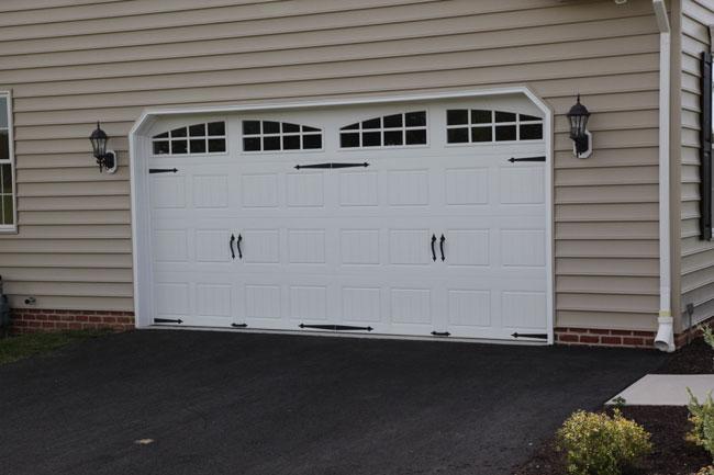 Carriage Doors  Stamped Steel  Mount Garage Doors  Westminster Maryland