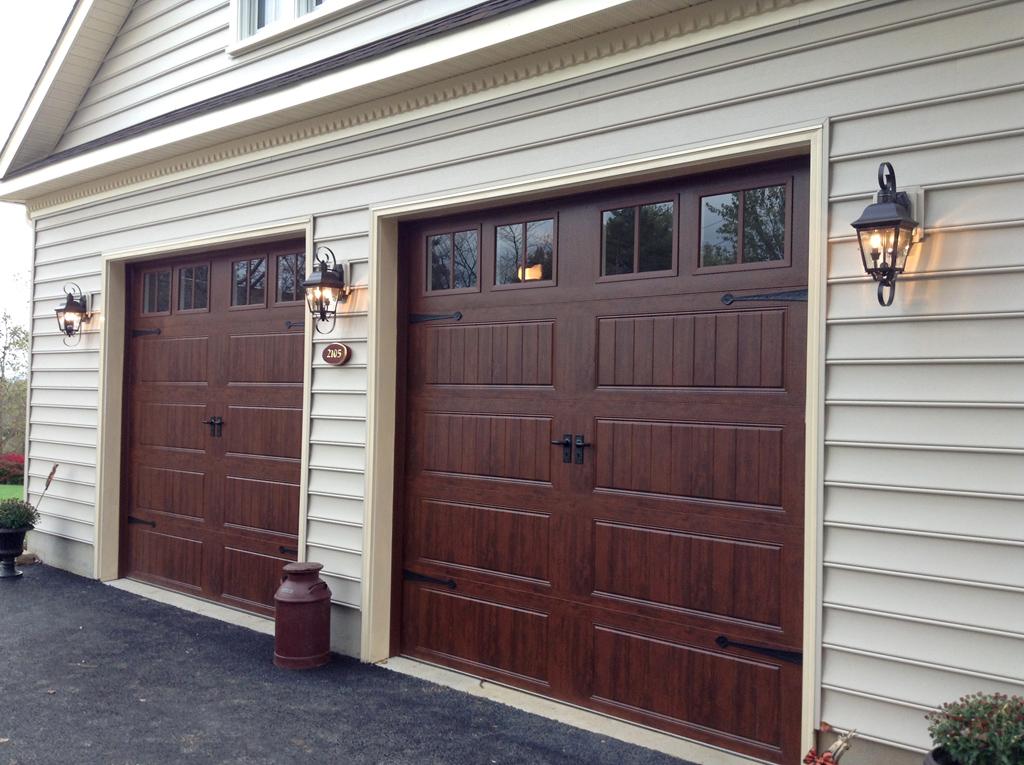 Carriage Doors - Stamped Steel - Mount Garage Doors - Westminster. Maryland