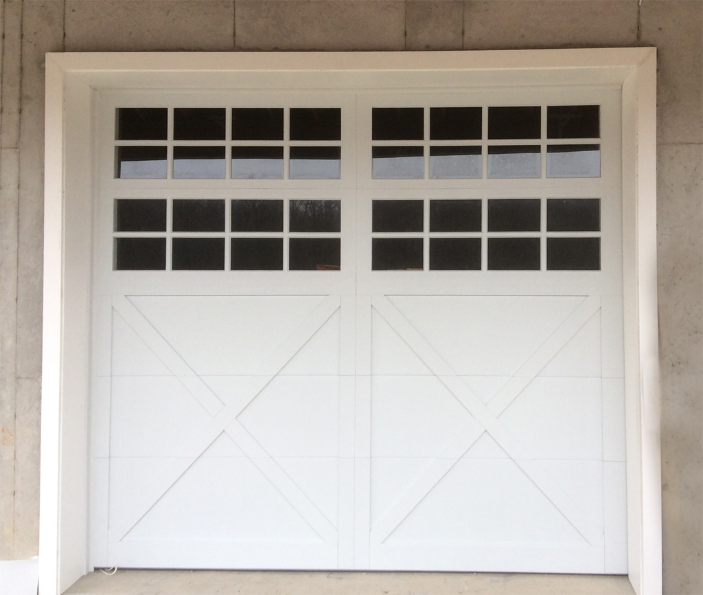 Carriage Doors  Custom Overlay  Mount Garage Doors  Westminster Maryland