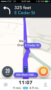 Waze V4 Screenshot