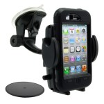 Car and Motorcycle Mounts for an Otterbox Case