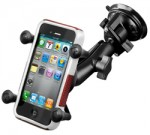 RAM RAM-B-166-UN7U RAM Twist Lock Suction Cup Mount with X-Grip Cradle