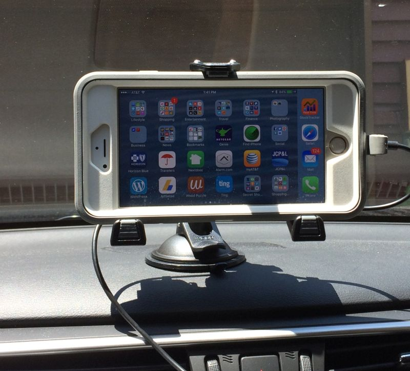 iBolt MFI Mount iPhone 6s Plus in Murano
