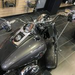 Mounts for a Harley-Davidson Fat Boy Motorcycle