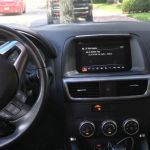 Phone, GPS and Tablet Mounts for a Mazda CX-5 SUV