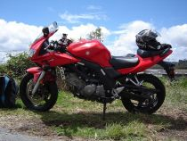 Suzuki SV650 Motorcycle