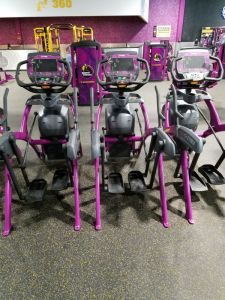 mounting a phone or tablet on a planet fitness elliptical