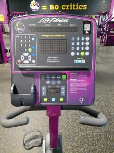 Planet Fitness recumbent bike