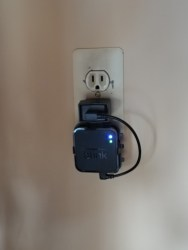 Mounting a Blink Sync Module to a Power Outlet