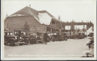 Battle Axe Inn, Government Camp Oregon