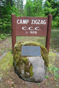 CCC Sign at Zigzag