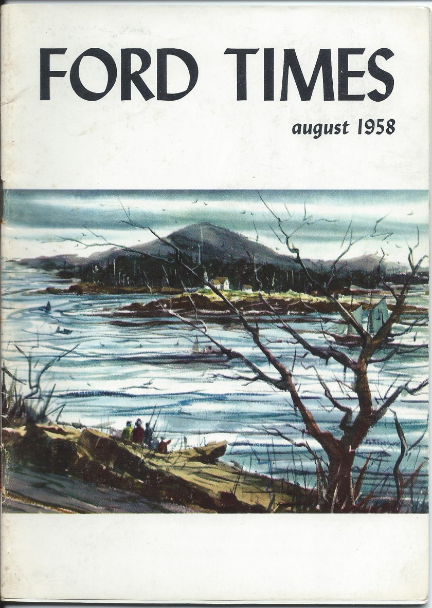 Ford Times August 1958