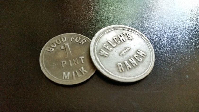 Welch's Ranch Tokens for Milk