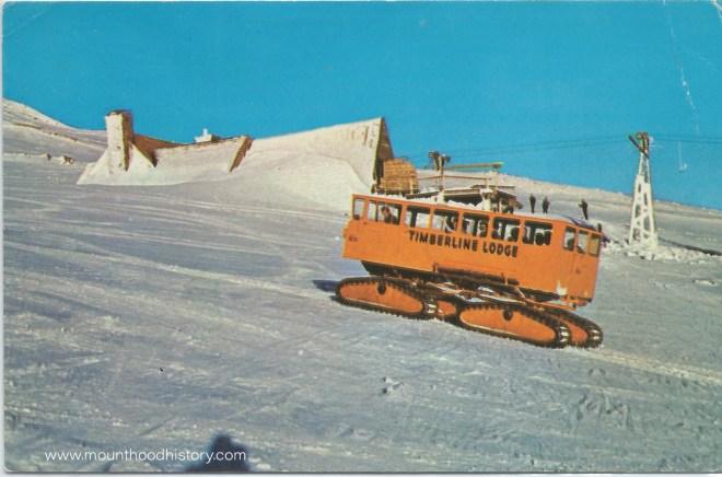 Mount Hood Timberline Lodge Snowcats