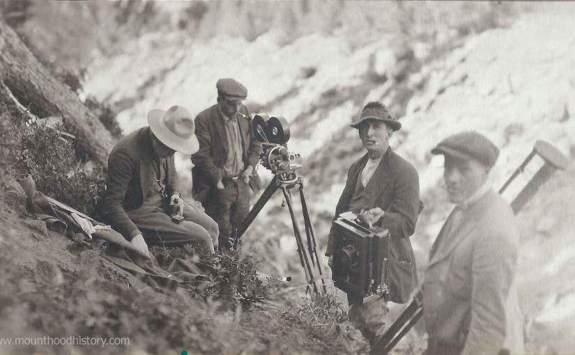 Photos of An Early Oregon Silent Movie