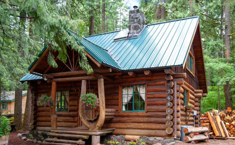 A Typical Steiner Cabin