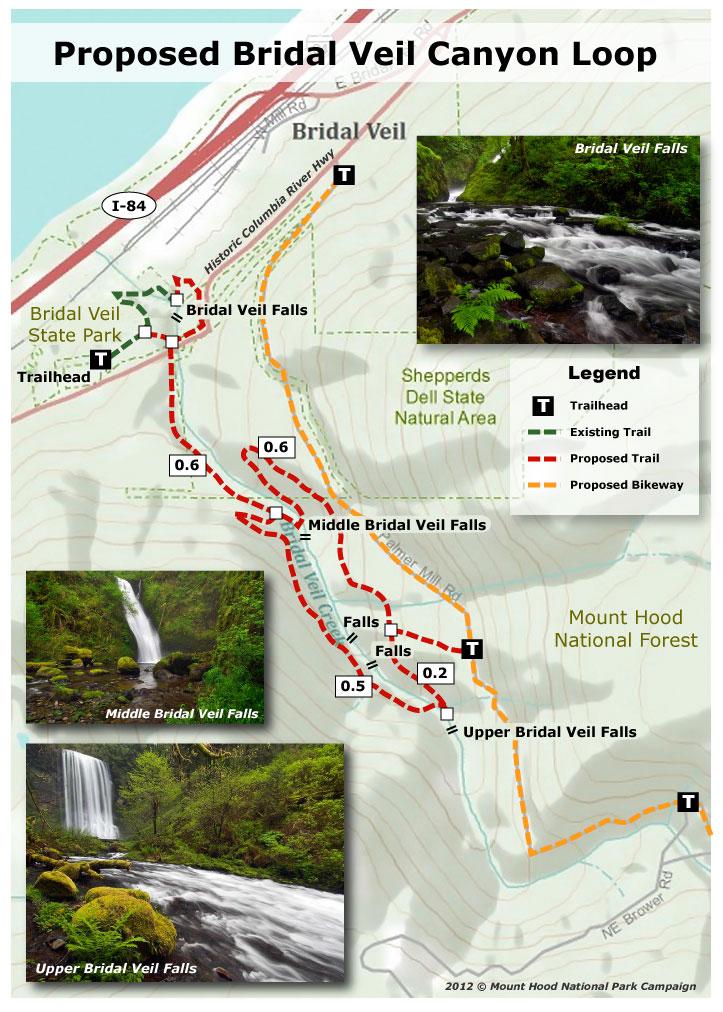 Proposal Bridal Veil Canyon Trail WyEast Blog