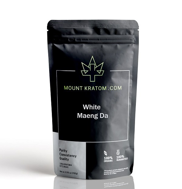 Picture of white maeng da kratom