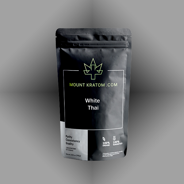 Picture of white thai kratom powder