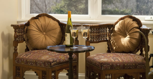 Romance and luxury are in the air at our NY B&B