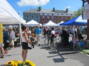 spring markets include the popular hudson farmers market