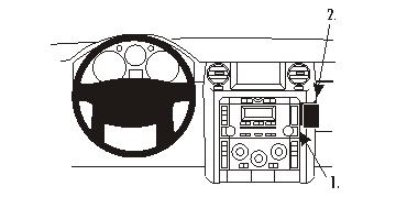 Brodit Land Rover Discovery 3 Car ProClip Mount Catalog