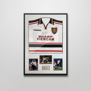 giggs signed shirt 1999 fa cup