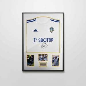 authentically signed bielsa leeds united shirt