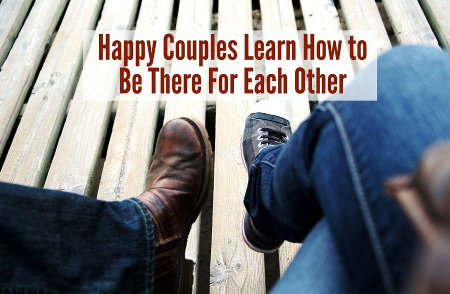 happy couples learn to be there for each other