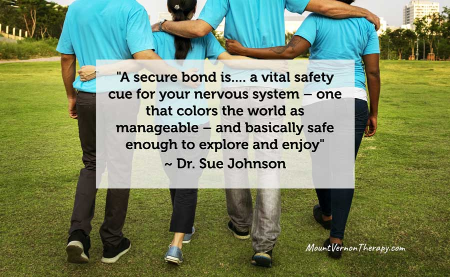 Secure Attachment is a safety cue