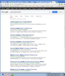 mouse search terms results on may 5 at 836 pm